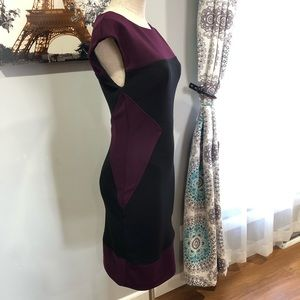 [Maggy London] colorblock dress Sz 4